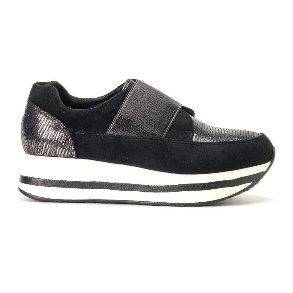 Pantofi sport de dama Marquiiz neagră it200917-28
