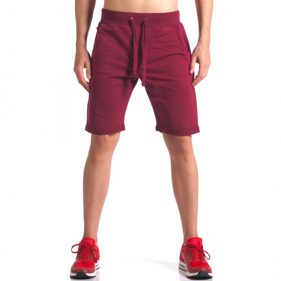 Pantaloni scurți bărbați New Men roșii it260416-25