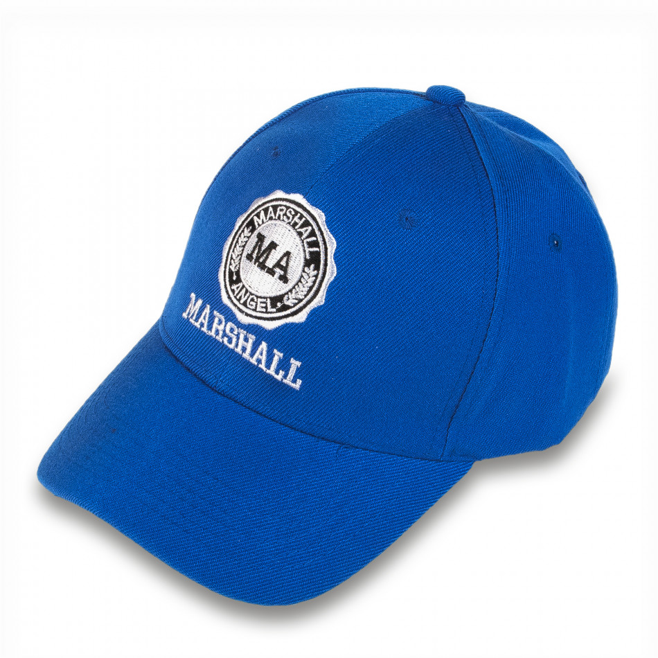 Șapcă bărbați Marshall albastră it220316-3