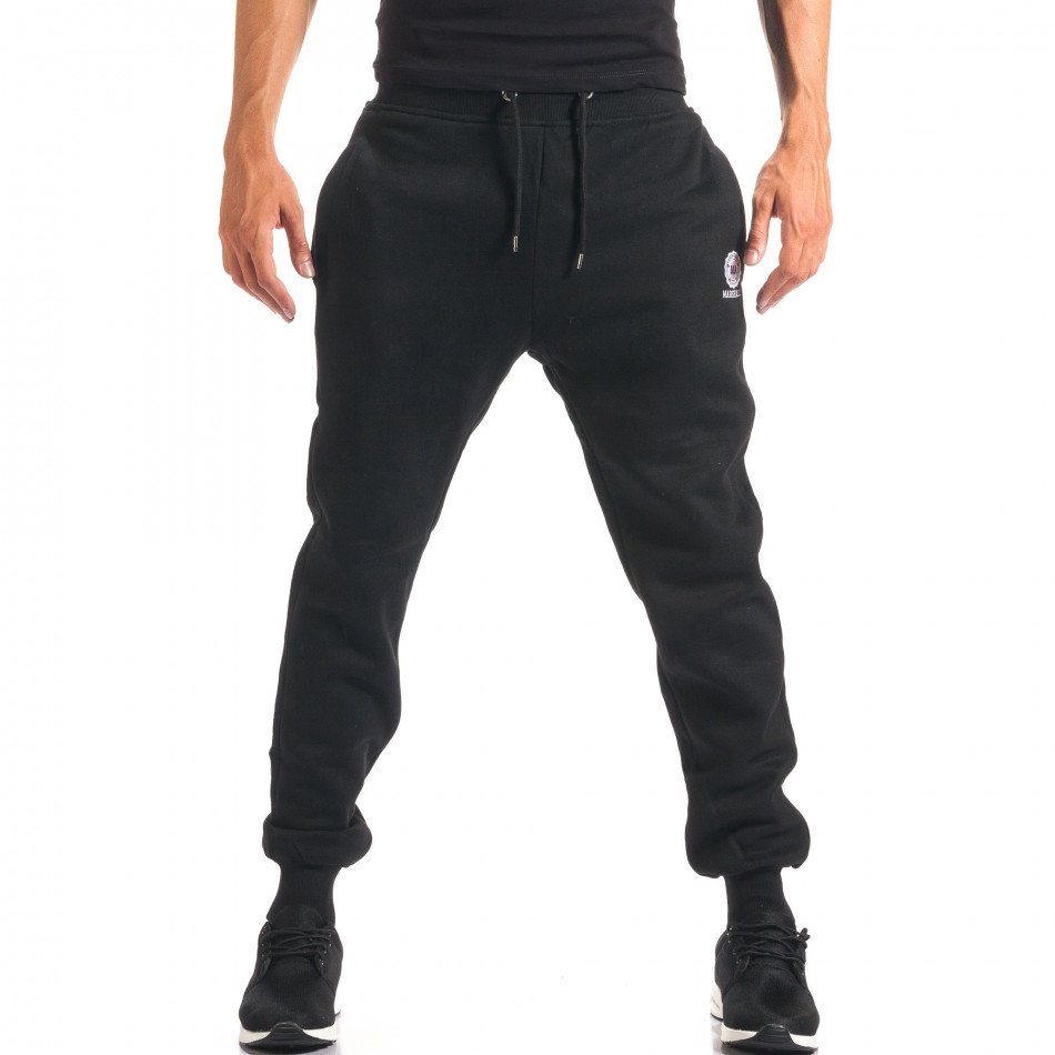 Pantaloni bărbați Marshall negru it160816-18