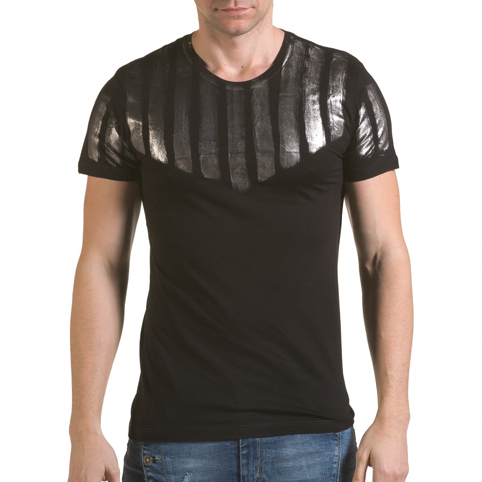 Tricou bărbați SAW negru il170216-51