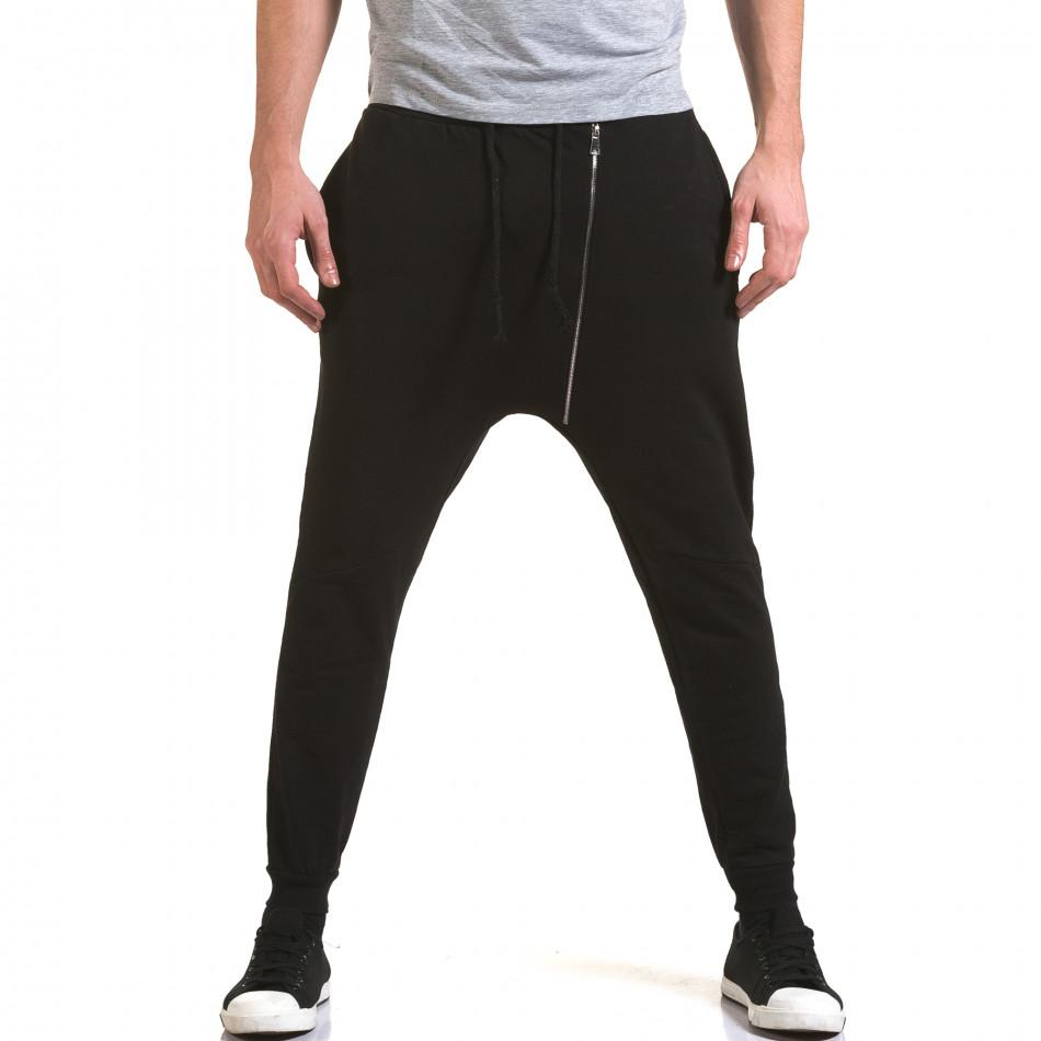 Pantaloni baggy bărbați G.Victory negri it090216-61