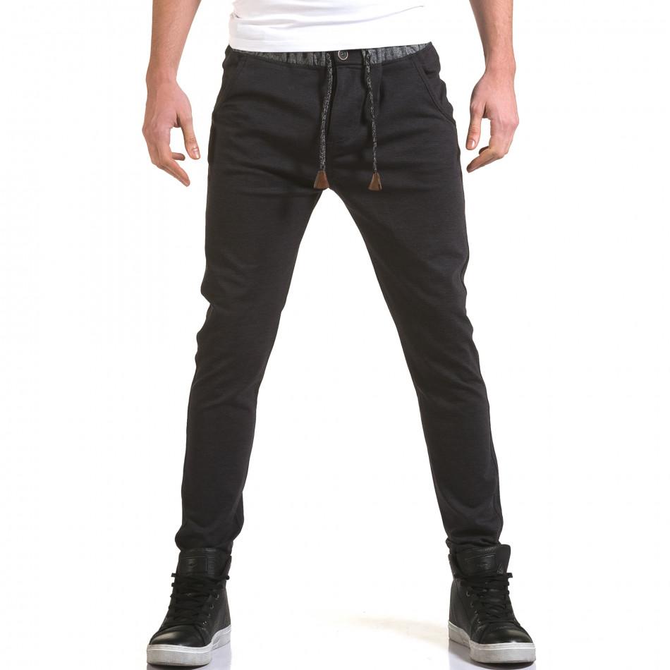Pantaloni Jack Berry albaștri bărbați it090216-30