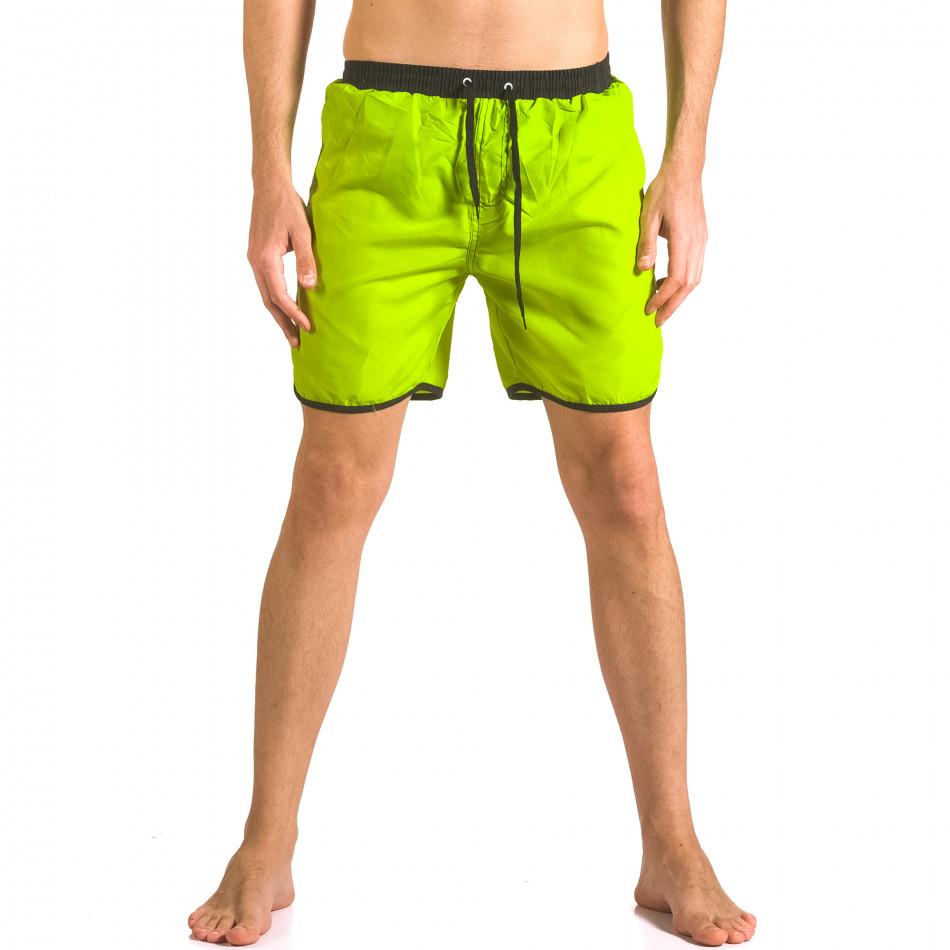 Costume de baie bărbați Yaliishi verde ca050416-29