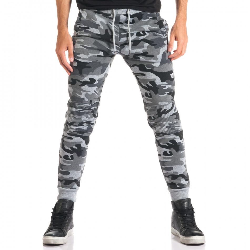 Pantaloni bărbați Top Star camuflaj ca280916-13