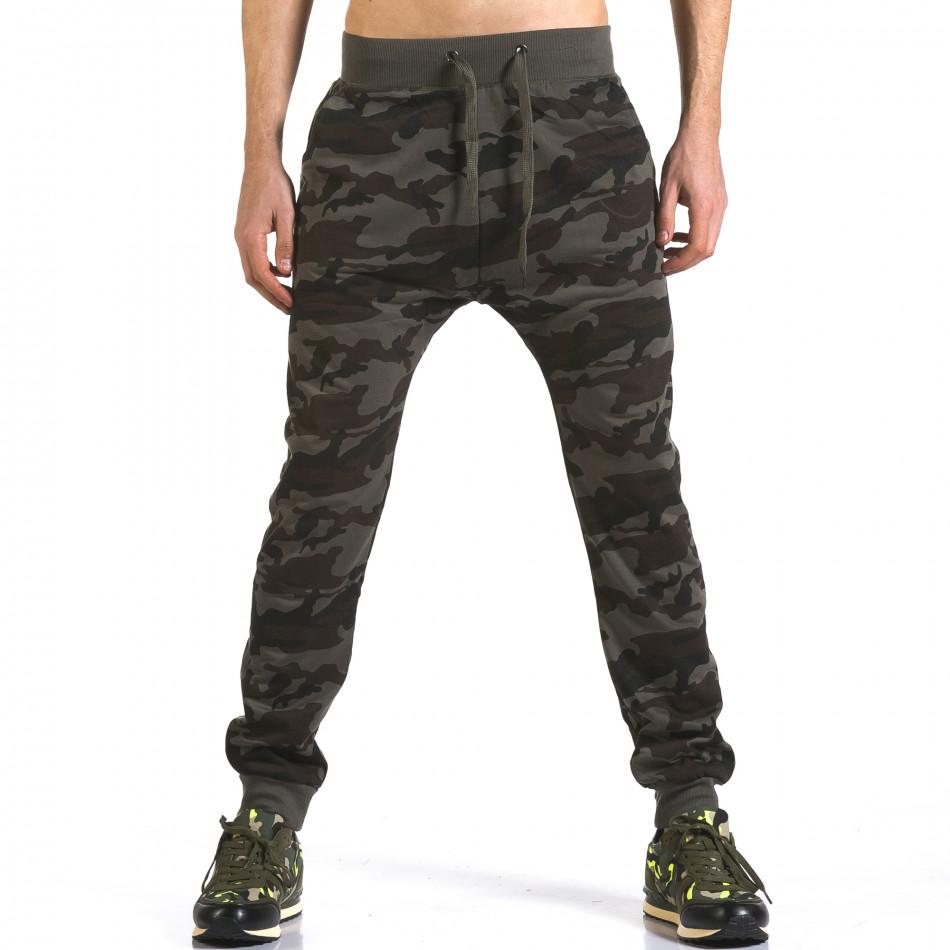 Pantaloni baggy bărbați Dress&GO camuflaj it110316-5