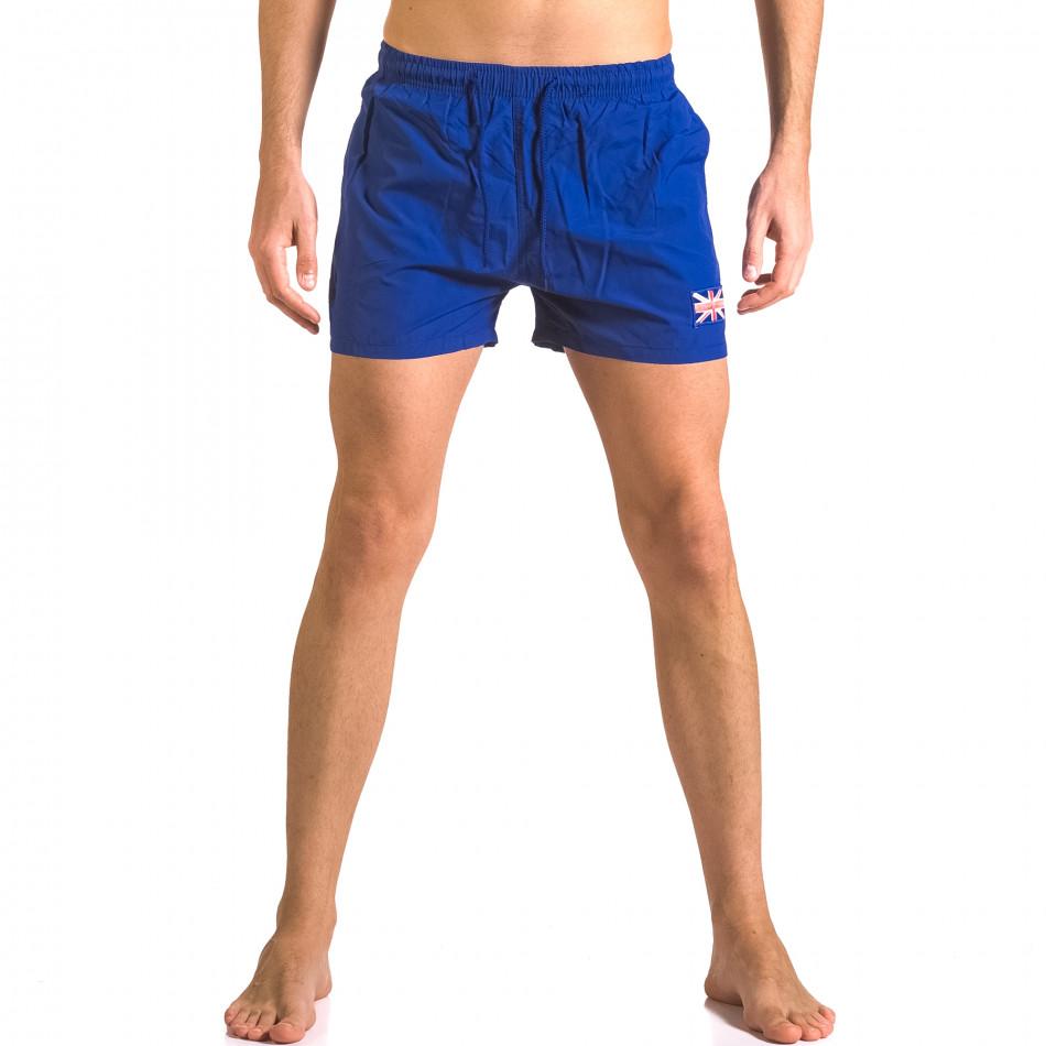 Costume de baie bărbați Bitti Jeans albastru ca050416-7