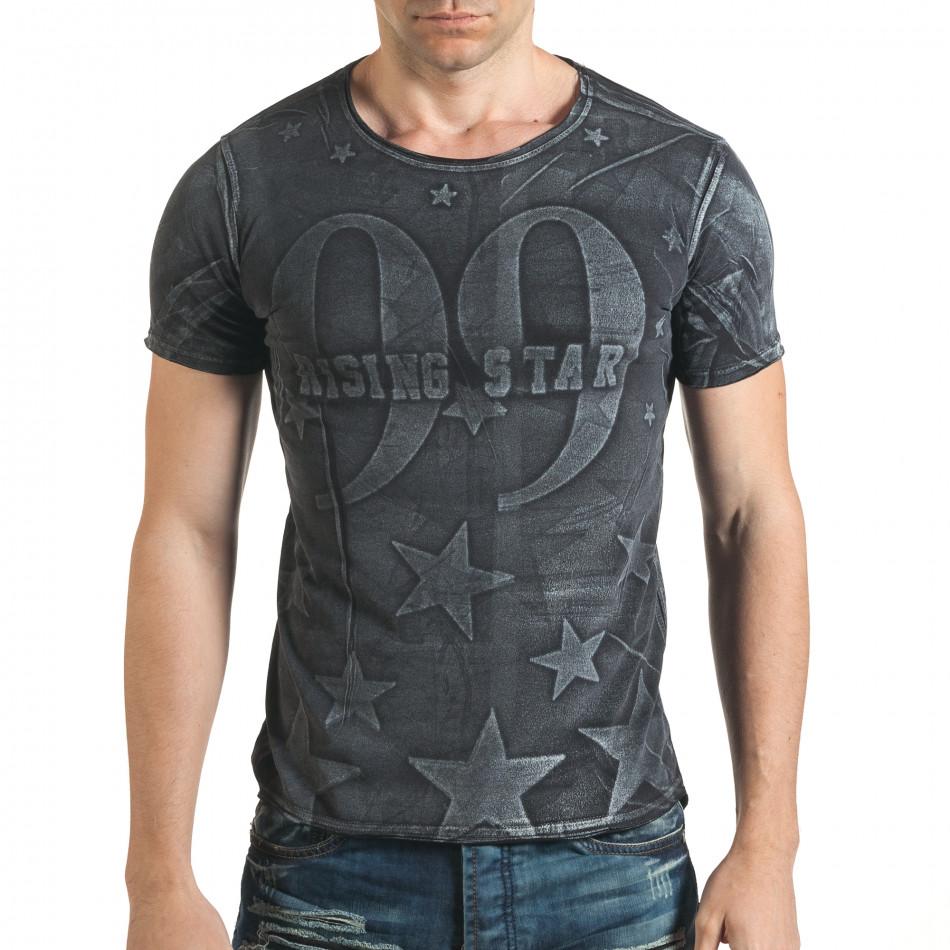 Tricou bărbați Millionaire negru il140416-16