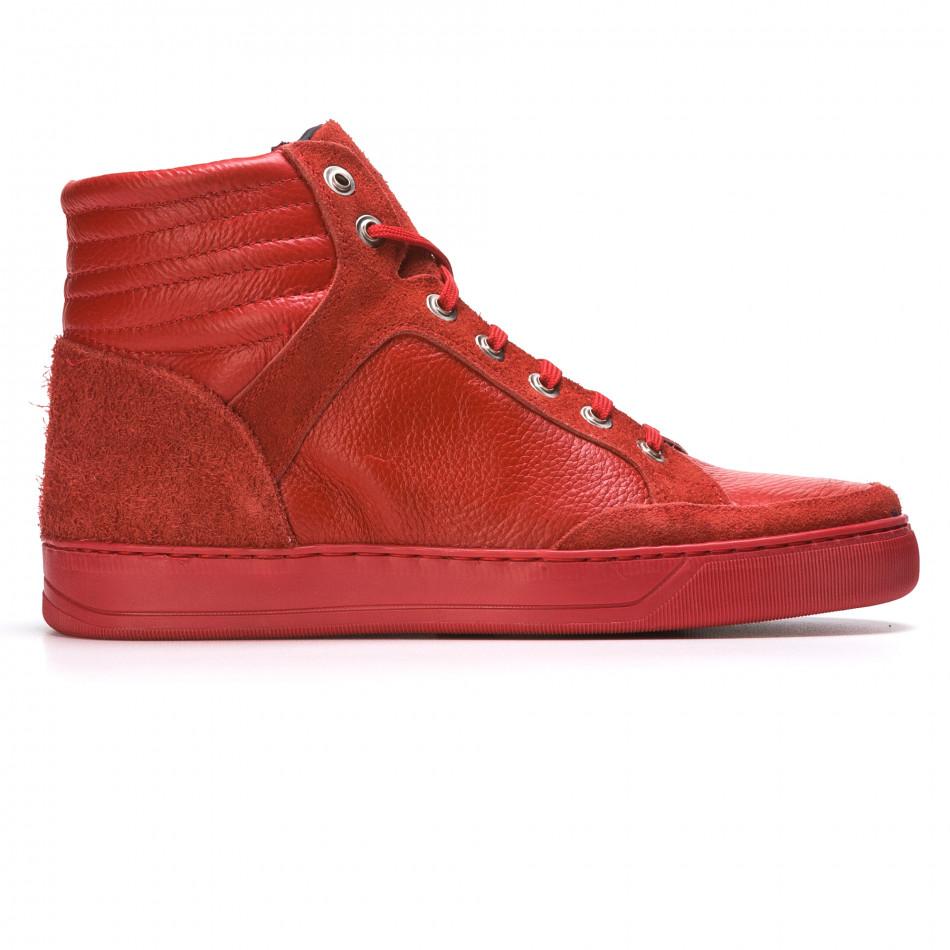 Pantofi sport bărbați Martin Pescatore roșii It050216-4