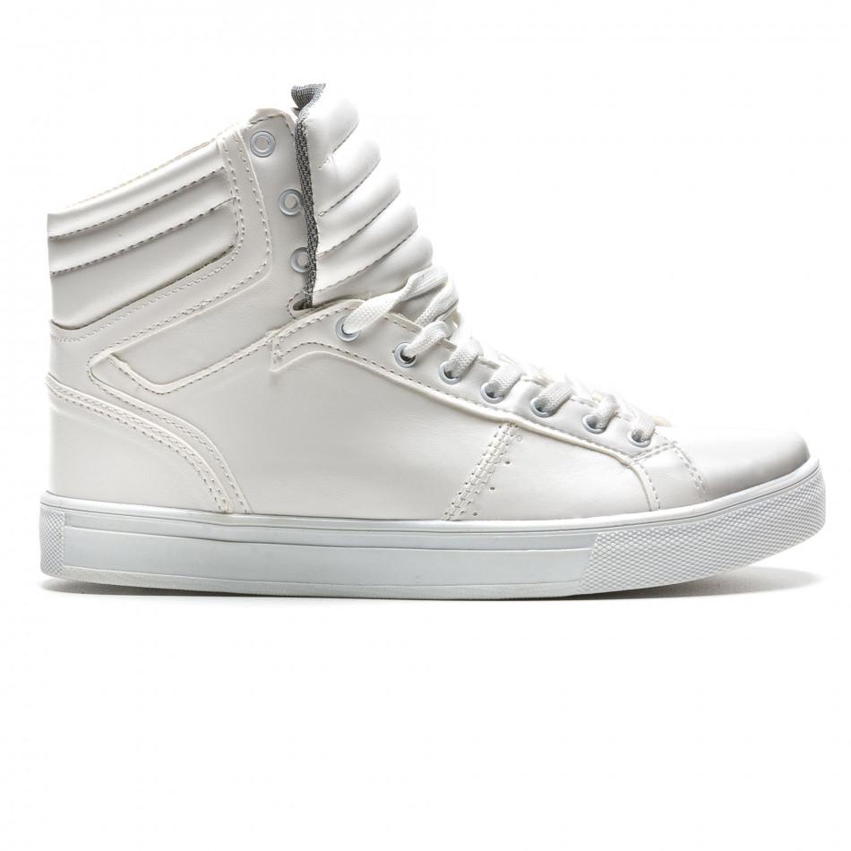 Pantofi sport bărbați Coner albi il160216-14