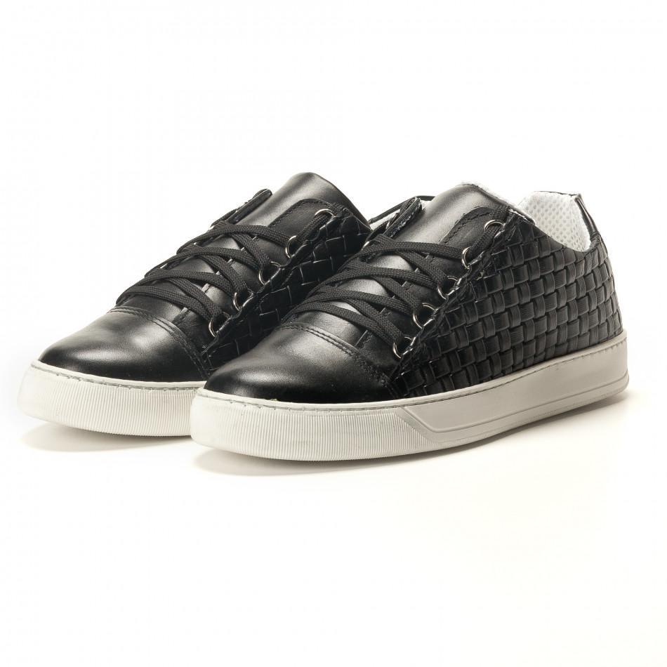 Teniși bărbați Shoes in Progress negri it100317-19