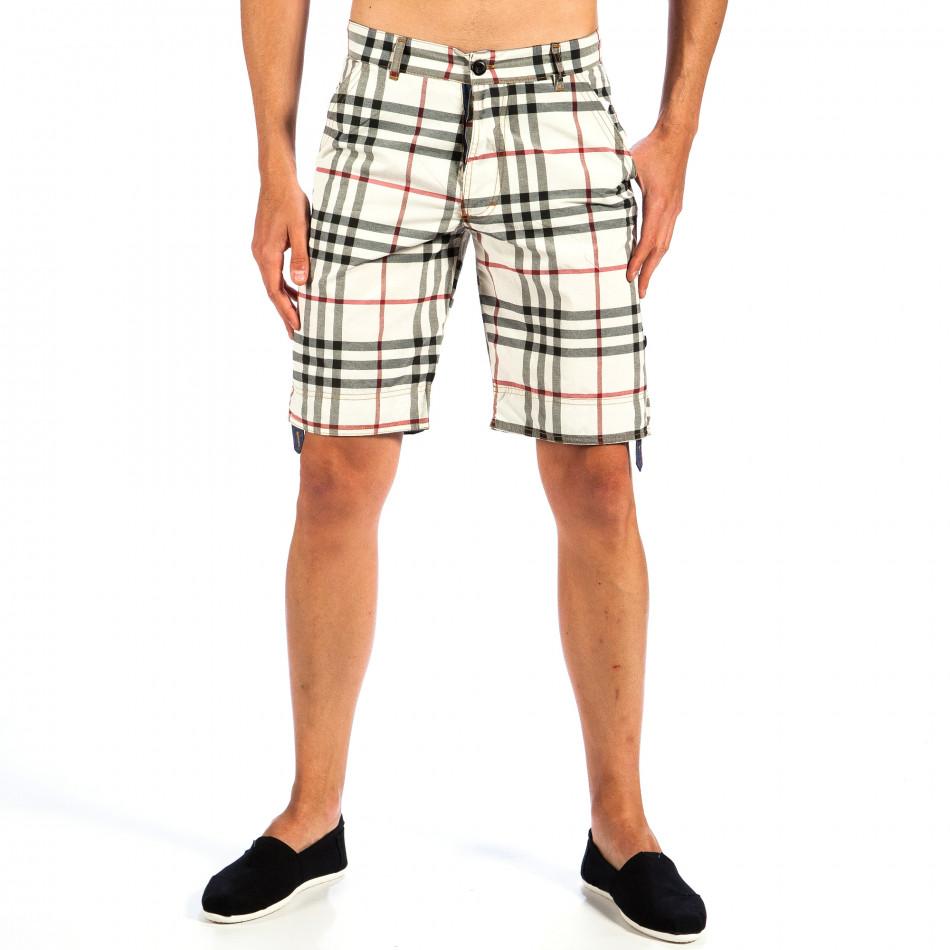 Pantaloni scurți bărbați Open Jeans curcubeu il130613-1