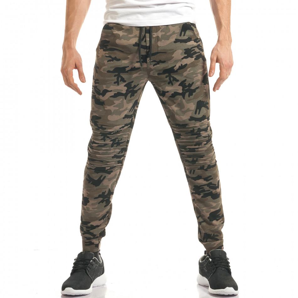 Pantaloni bărbați Enos camuflaj it140317-48