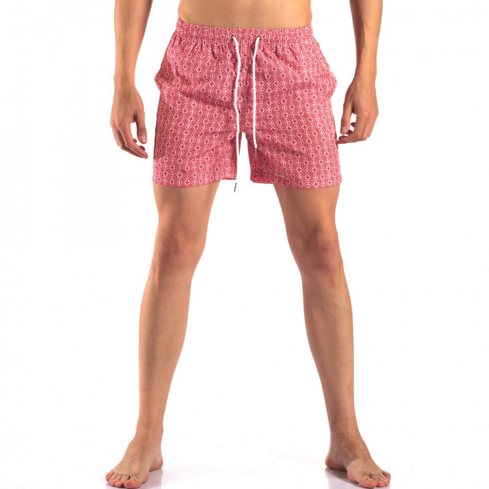 Costume de baie bărbați Bread & Buttons roșu it150616-17