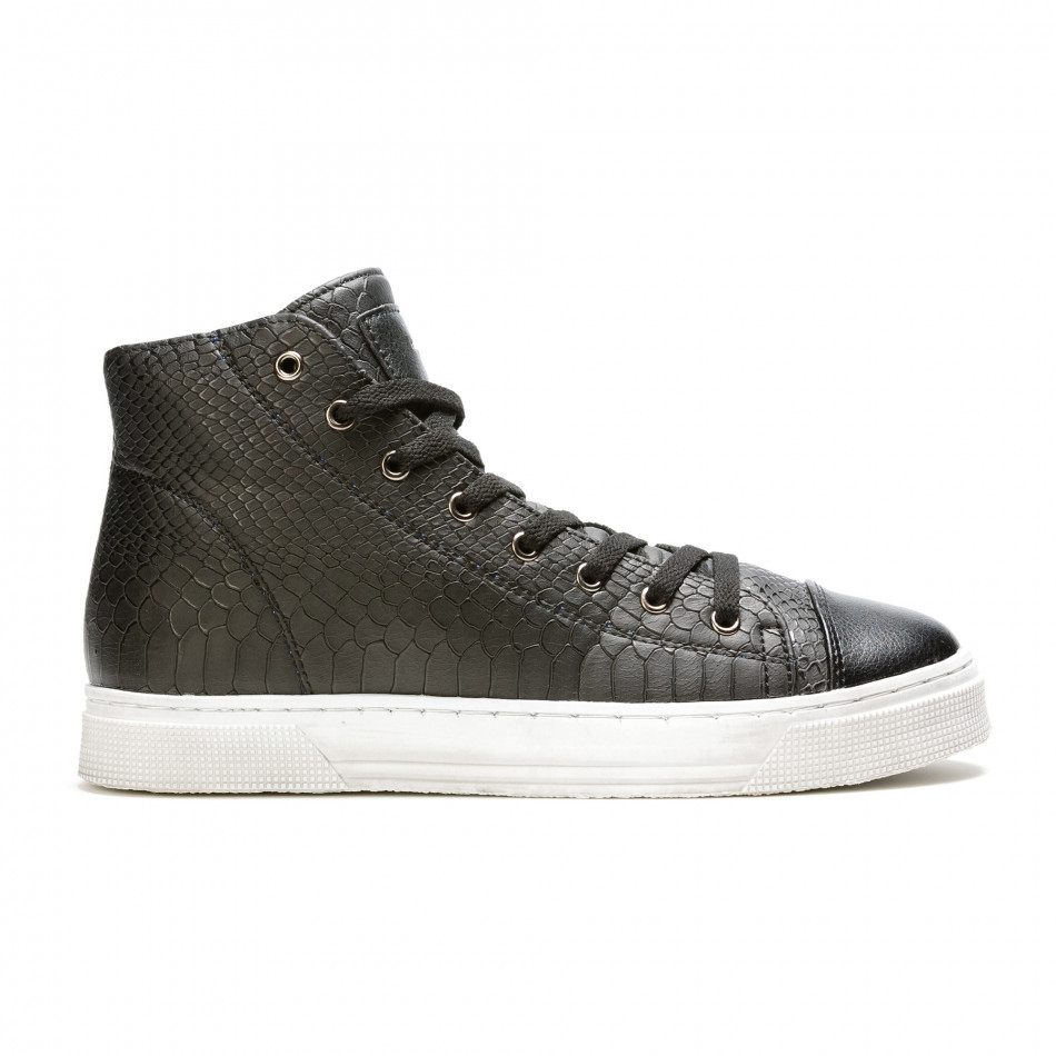 Pantofi sport bărbați Niadi negri it100915-5
