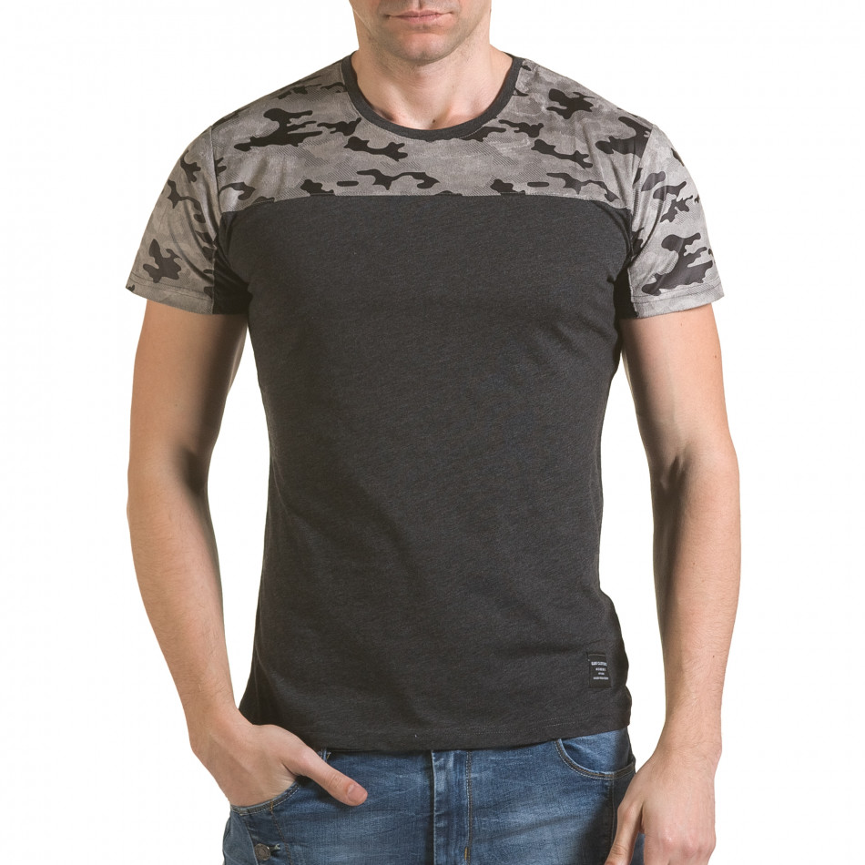 Tricou bărbați SAW camuflaj il170216-46