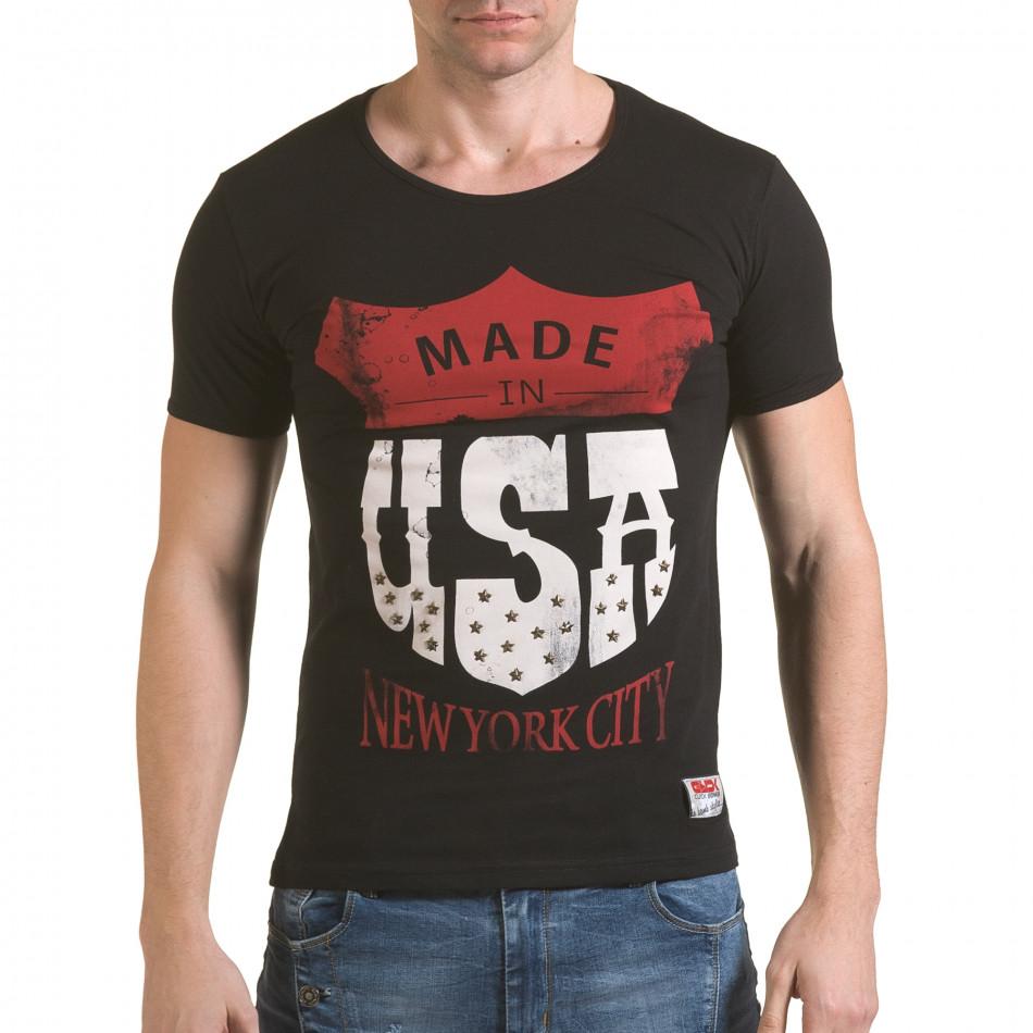 Tricou bărbați Click Bomb negru il170216-82