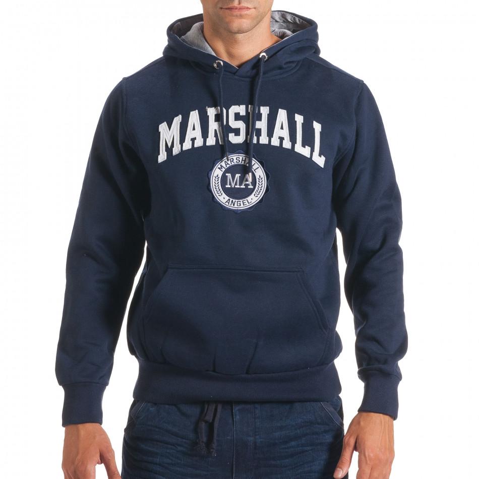 Hanorac bărbați Marshall albastru it240816-32