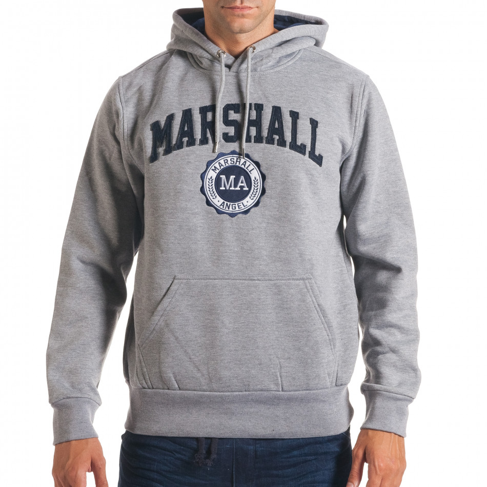 Hanorac bărbați Marshall gri it240816-34
