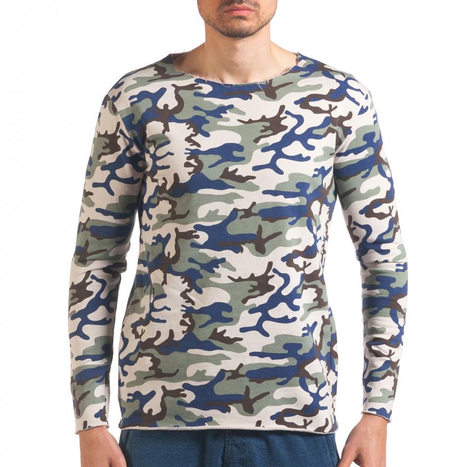 Bluză bărbați Wilfed camuflaj it250416-73