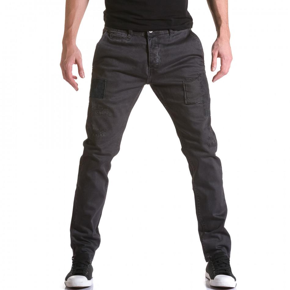 Pantaloni Y-Two gri bărbați it031215-16
