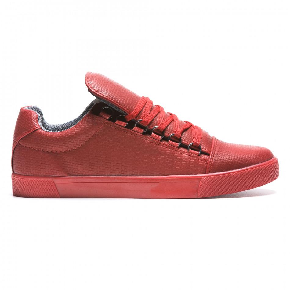 Pantofi sport bărbați Coner roșii il160216-5