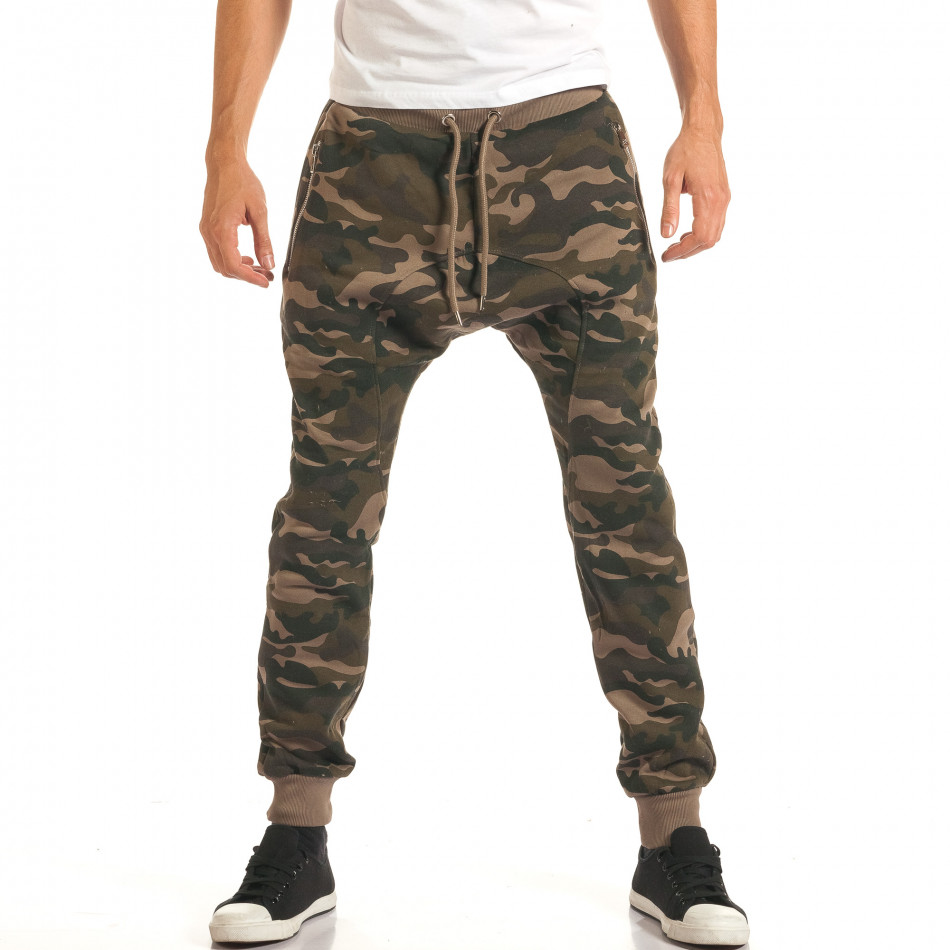 Pantaloni baggy bărbați Furia Rossa camuflaj it191016-19
