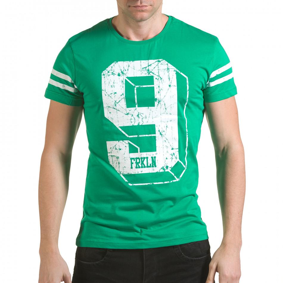 Tricou bărbați Franklin verde il170216-19