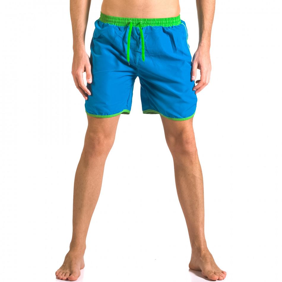 Costume de baie bărbați Yaliishi albastru ca050416-28