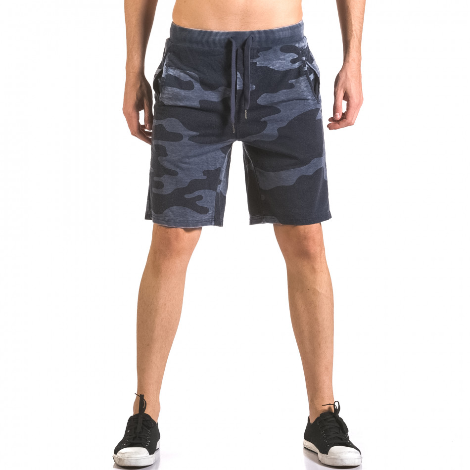 Pantaloni scurți bărbați Top Star camuflaj ca050416-45