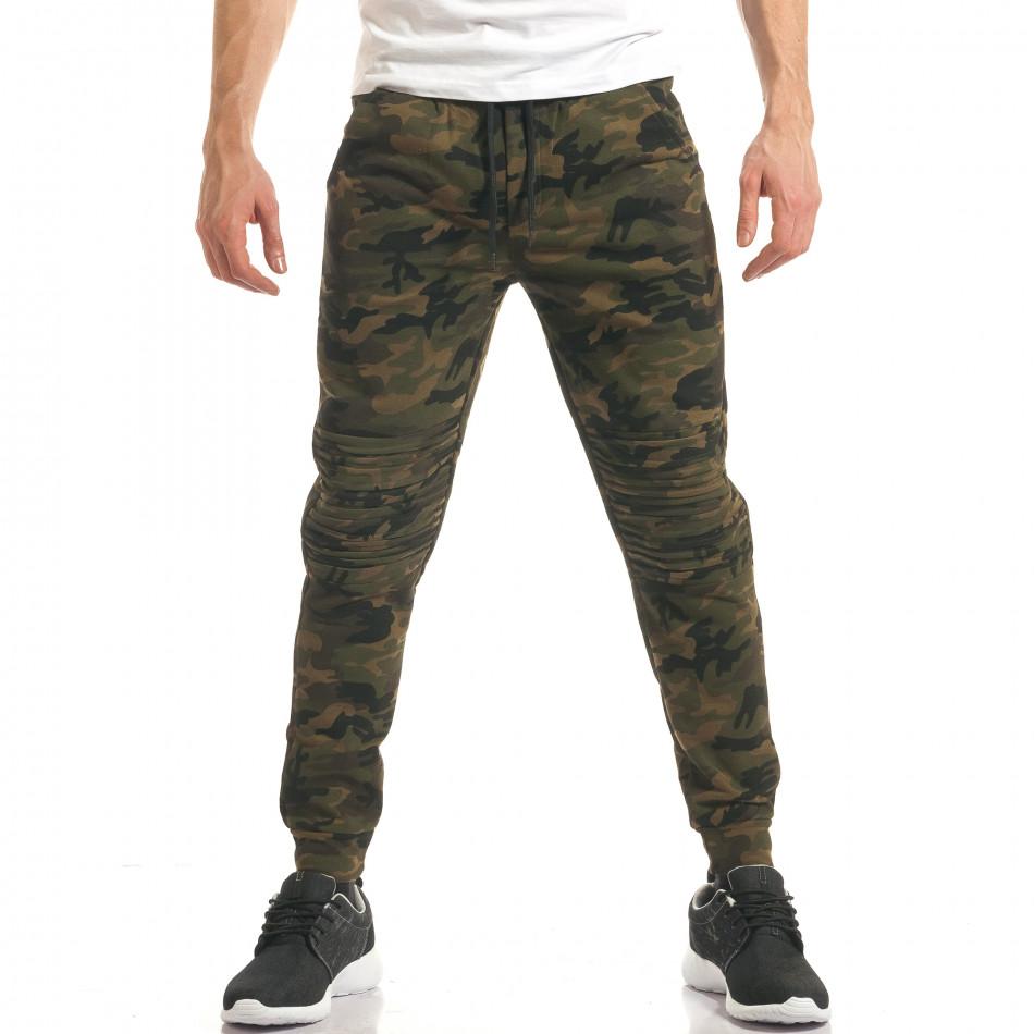 Pantaloni bărbați Enos camuflaj it140317-47