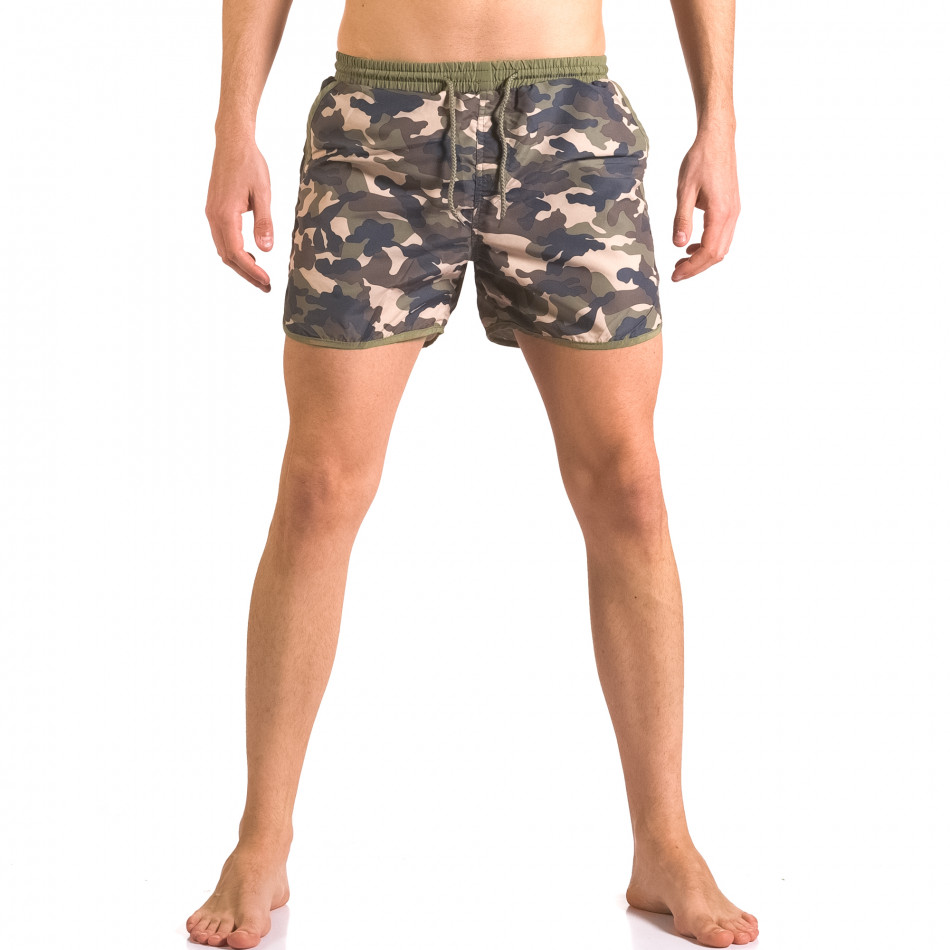 Costume de baie bărbați New Mentality camuflaj ca050416-2