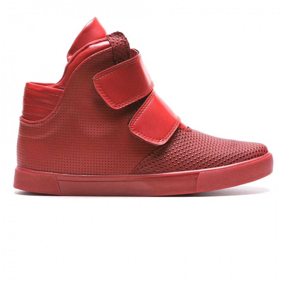 Pantofi sport bărbați Coner roșii il160216-12