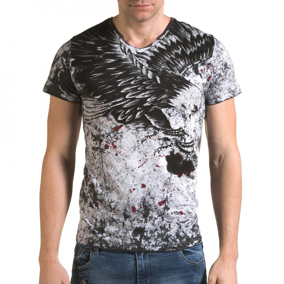 Tricou bărbați Lagos gri il120216-47