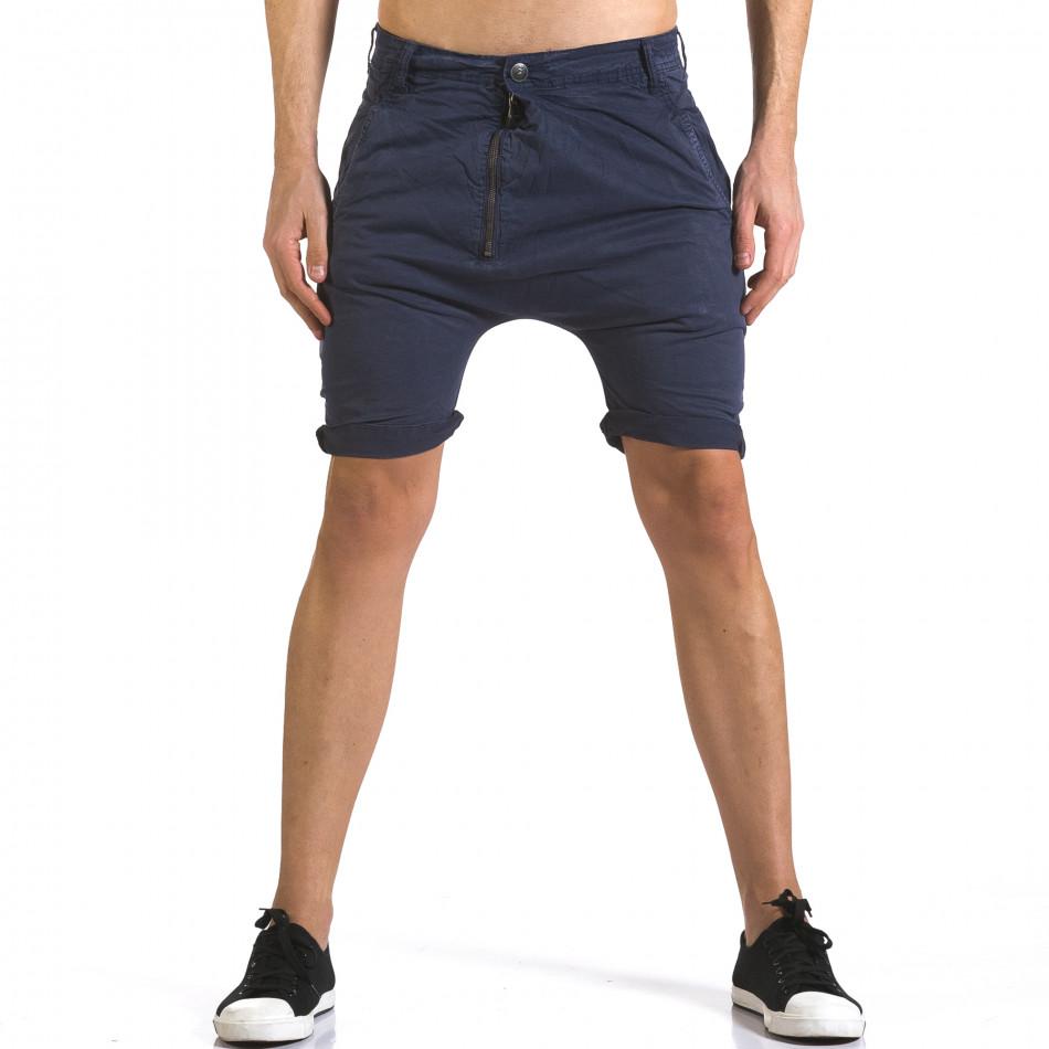 Pantaloni scurți bărbați Always Jeans albaștri it110316-36