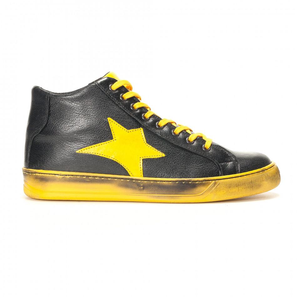 Teniși bărbați Shoes in Progress negri it141016-5