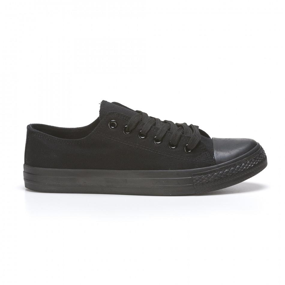 Pantofi sport bărbați FM  negri 110416-4