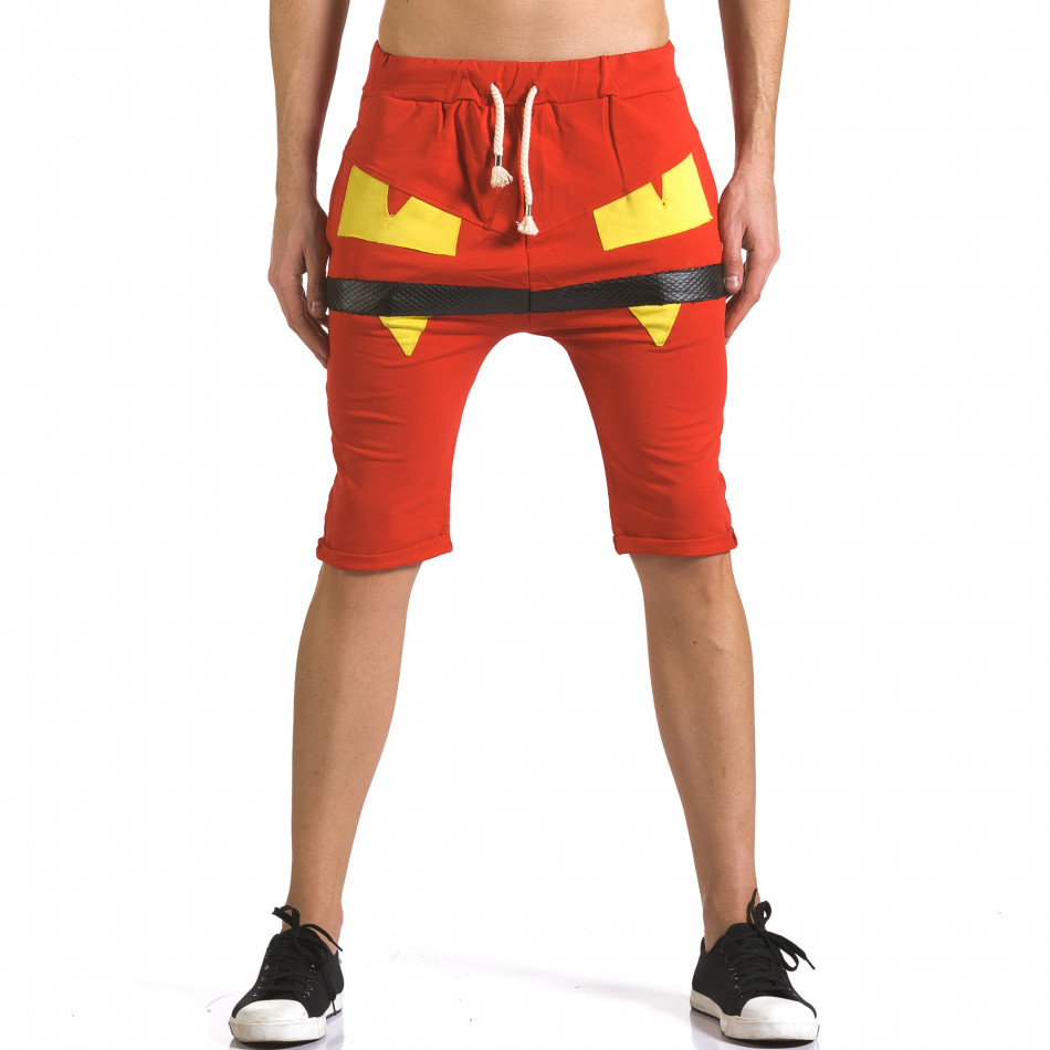 Pantaloni scurți bărbați ChRoy roșii it110316-74