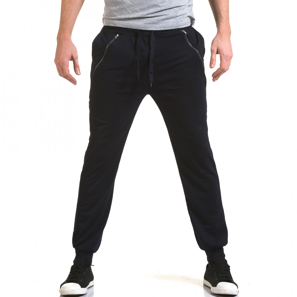 Pantaloni bărbați Eadae Wear albastru it090216-54