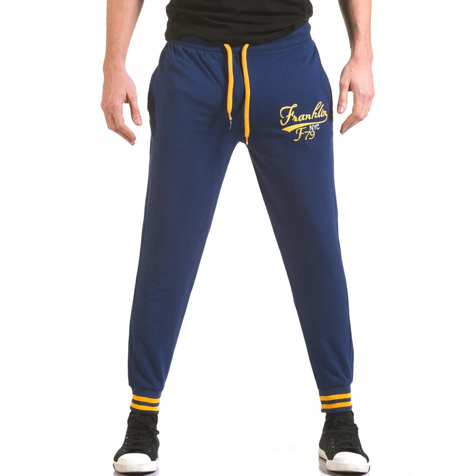 Pantaloni bărbați Franklin albastru il170216-134