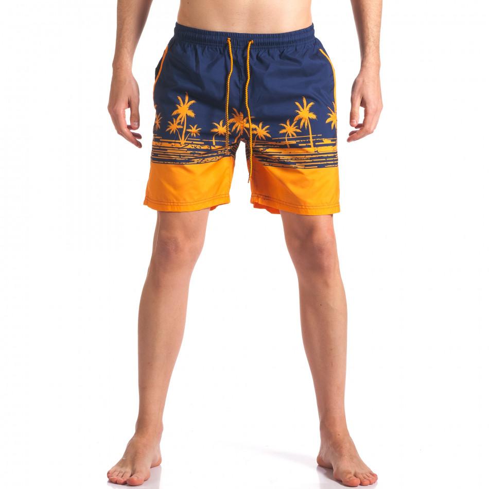 Costume de baie bărbați Austar Jeans albastru it250416-40