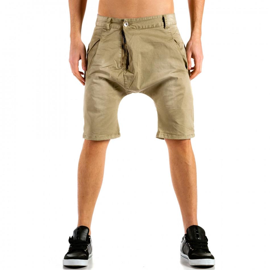 Pantaloni scurți bărbați X-three bej ca300315-30