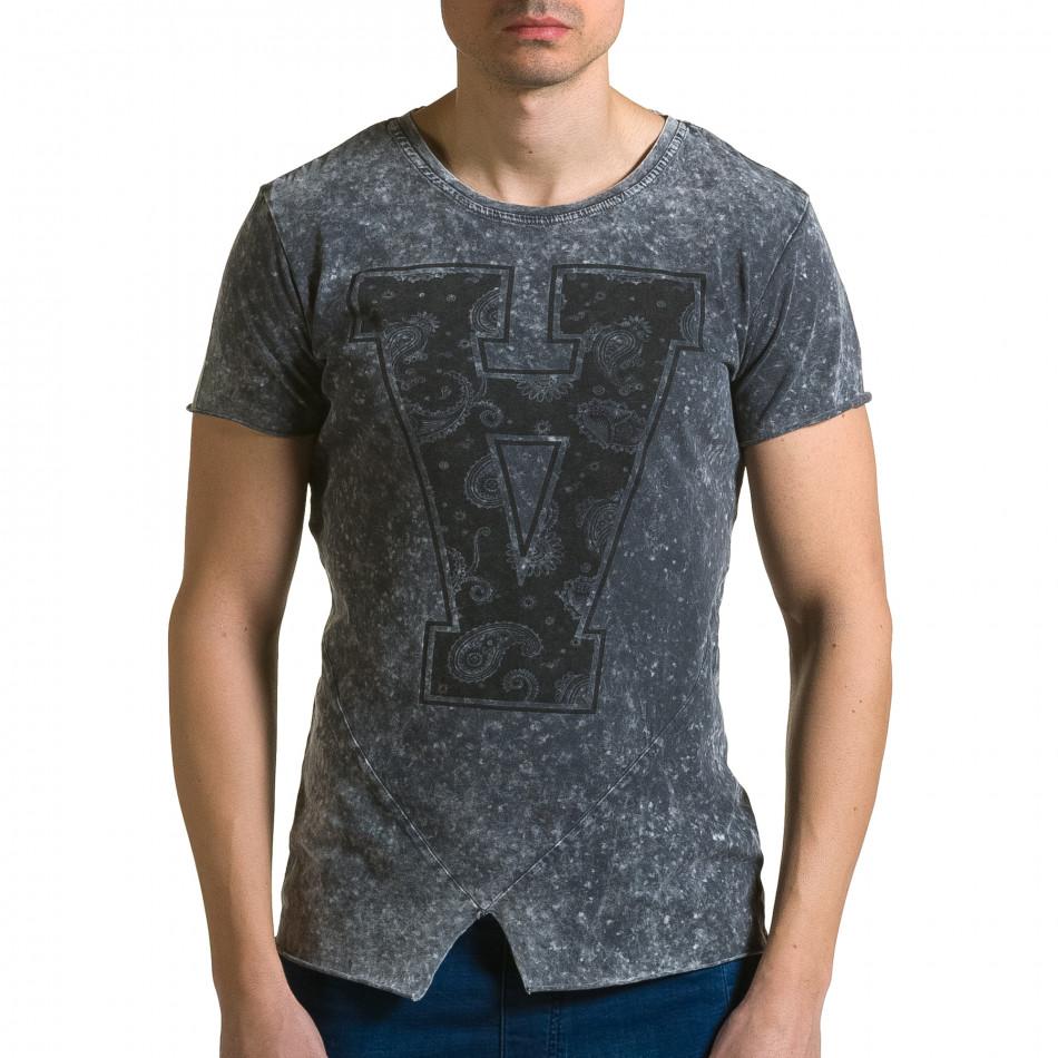 Tricou bărbați Adrexx gri ca190116-48