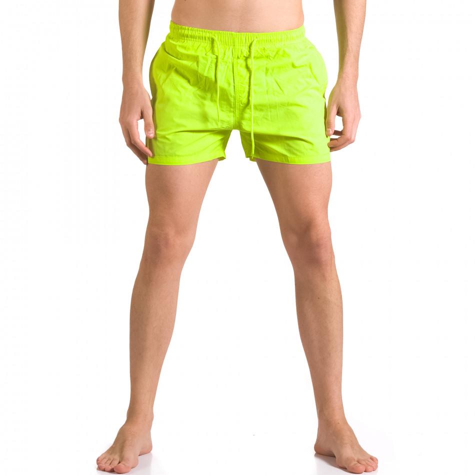 Costume de baie bărbați Bitti Jeans verde ca050416-3
