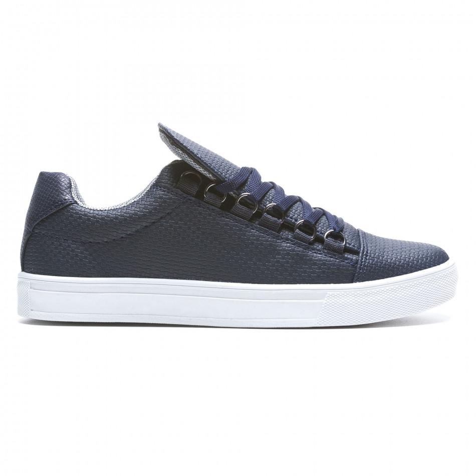 Pantofi sport bărbați Coner albaștri il160216-6