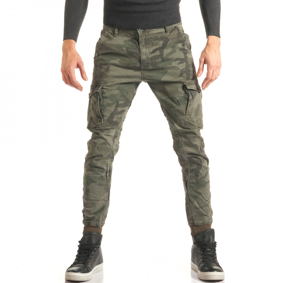 Pantaloni bărbați Always Jeans camuflaj it181116-78