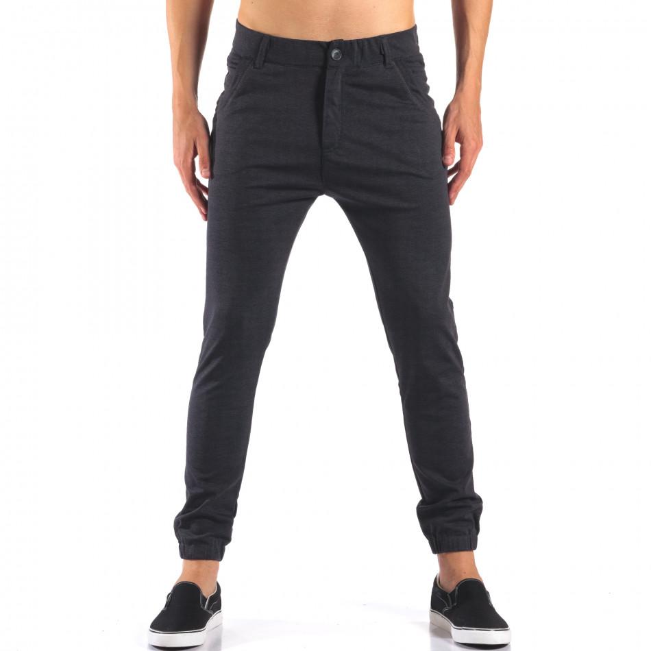 Pantaloni bărbați Jack Berry albaștri it160616-25