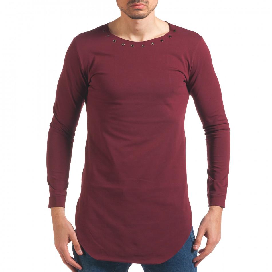 Bluză bărbați Black Fox roșie it250416-80