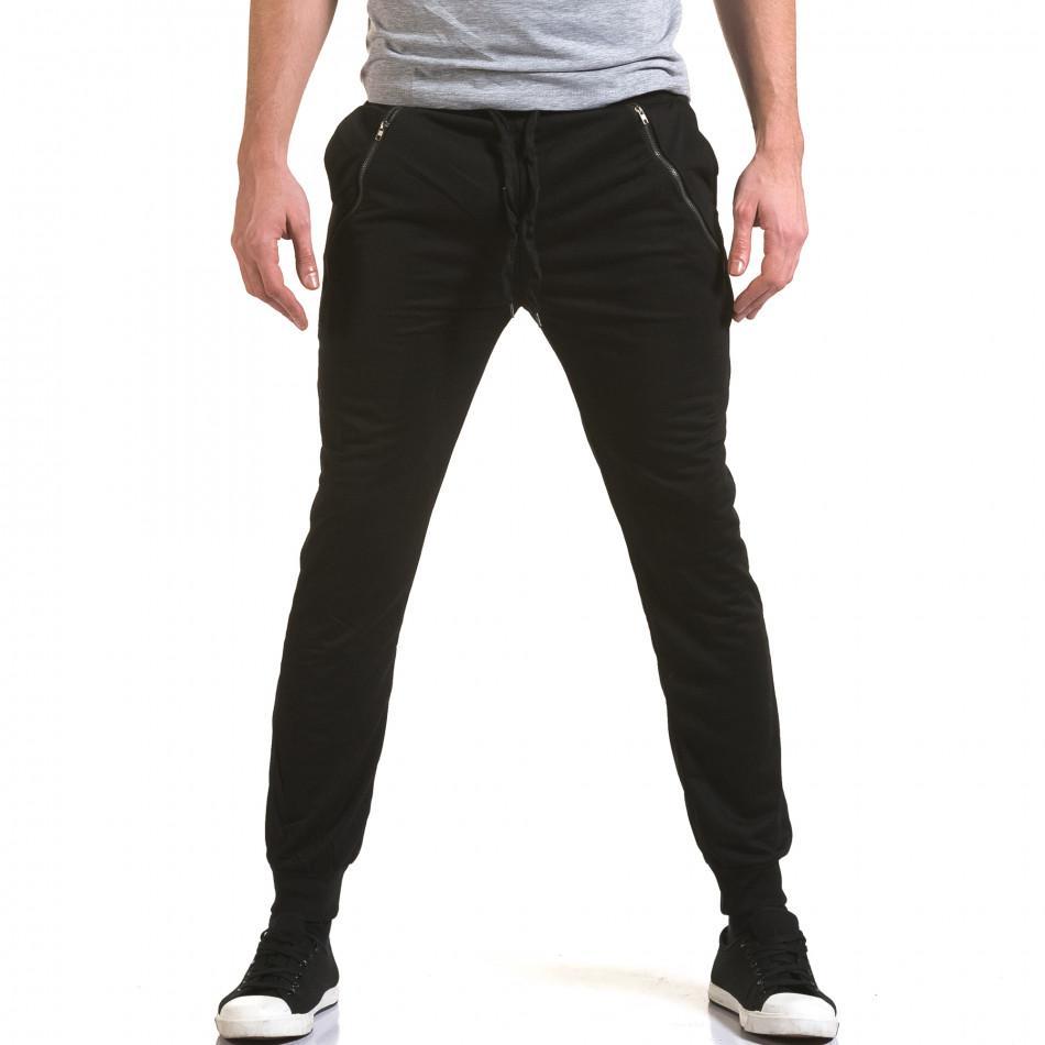 Pantaloni bărbați Eadae Wear negru it090216-55