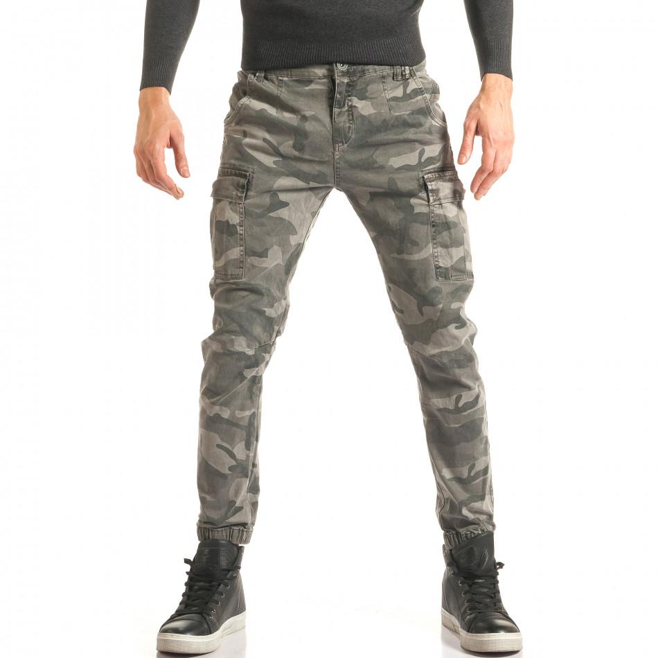 Pantaloni bărbați X-three camuflaj it181116-66